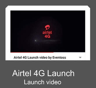 AIRTEL 4G Launch Video