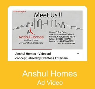 ANSHUL HOMES AD Video