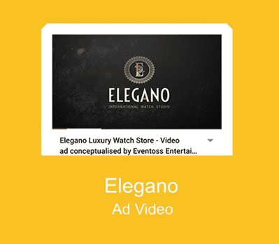 ELEGANO AD VIDEO