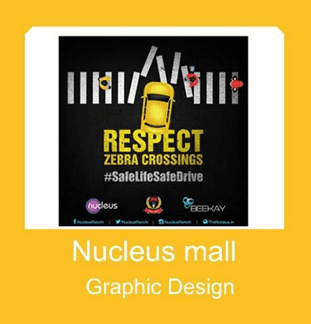 NUCLEUS MALL GRAPHIC DESIGN